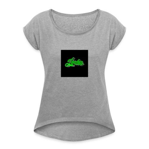 12969270_1985675074991508_663459510_n-jpg - Vrouwen T-shirt met opgerolde mouwen