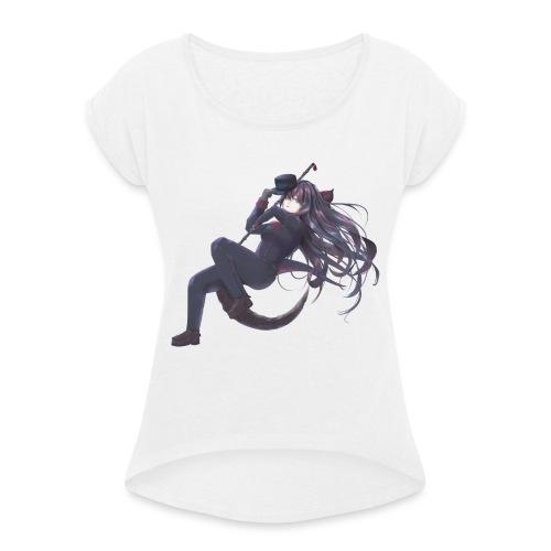 Sickle Stone - Maglietta da donna con risvolti