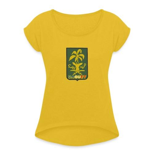 Daguet opération tempête du desert - T-shirt à manches retroussées Femme