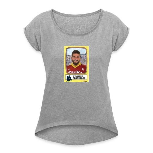 Alisson proteggimi - Maglietta da donna con risvolti
