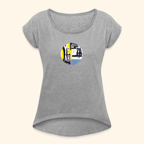 YEAH - T-shirt à manches retroussées Femme