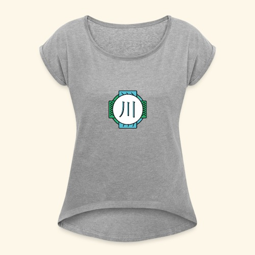 RIVER - T-shirt à manches retroussées Femme