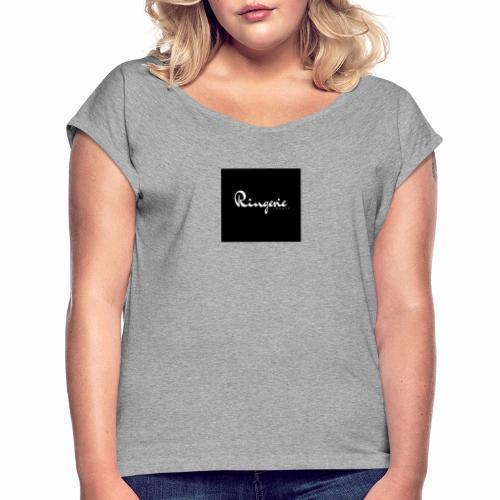 1 - T-shirt à manches retroussées Femme