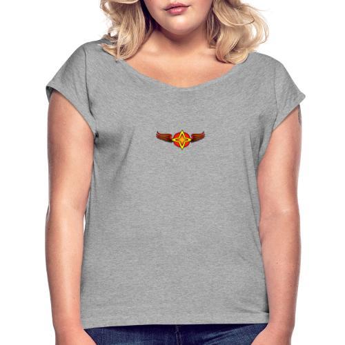 Collèction de départ - T-shirt à manches retroussées Femme