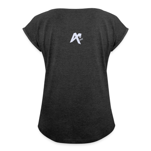 Logo Amigo - Women's T-Shirt with rolled up sleeves