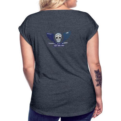 Logo BDE - T-shirt à manches retroussées Femme
