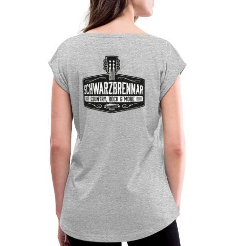 Schwarzbrennar - Frauen T-Shirt mit gerollten Ärmeln