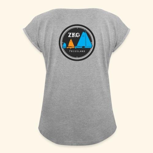 ZKGFriesland - Vrouwen T-shirt met opgerolde mouwen