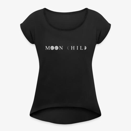 Moon child tshirt - Maglietta da donna con risvolti