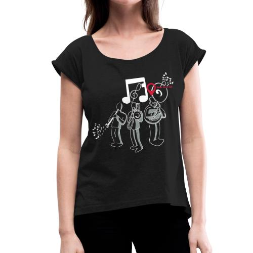banda souba : vous êtes ici - T-shirt à manches retroussées Femme
