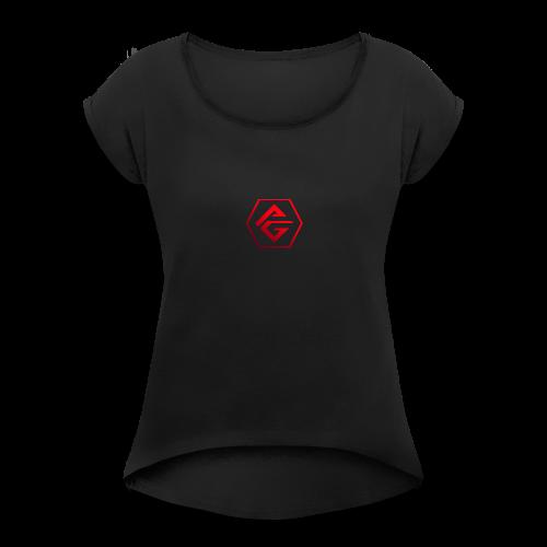 Prime Gaming - Frauen T-Shirt mit gerollten Ärmeln