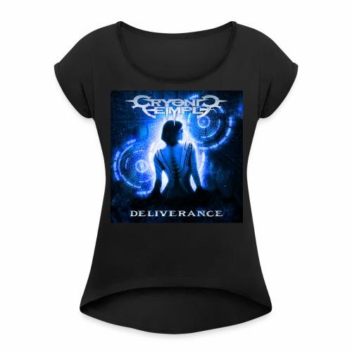 Deliverance - T-shirt med upprullade ärmar dam