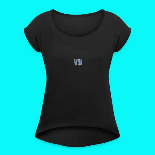 Velocity Networks Hoody! - Women's T-Shirt with rolled up sleeves