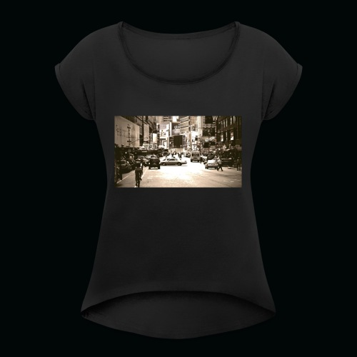 American street - Maglietta da donna con risvolti