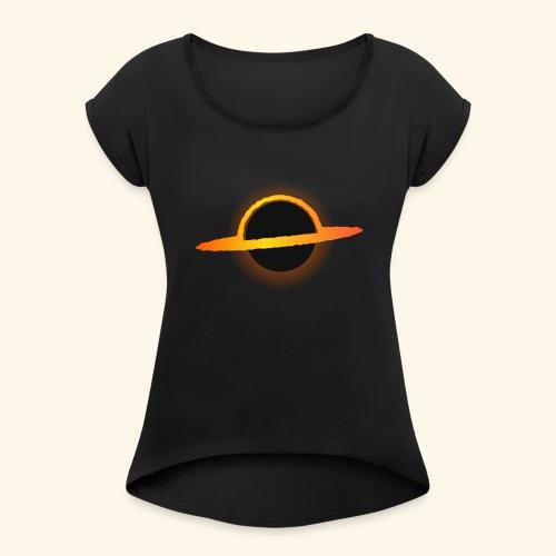 Trou Noir - T-shirt à manches retroussées Femme