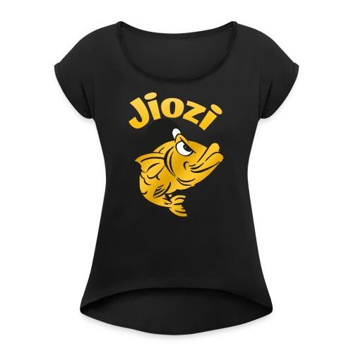 Jiozi Official Logo - Maglietta da donna con risvolti