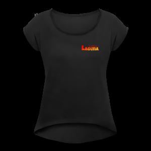 Marc Laguna - Frauen T-Shirt mit gerollten Ärmeln