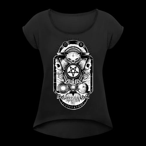 Logo Ouija complet - T-shirt à manches retroussées Femme