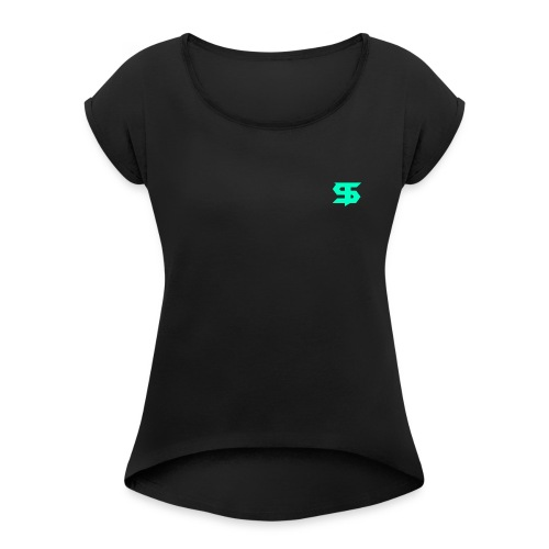 Ganongom Branded - Women's T-shirt with rolled up sleeves