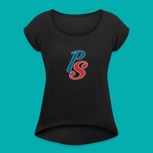 PS ~ Perfect Soldier - Vrouwen T-shirt met opgerolde mouwen