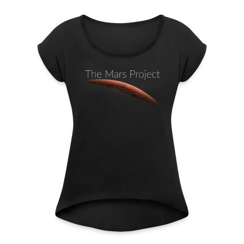 The Mars Project - T-shirt à manches retroussées Femme