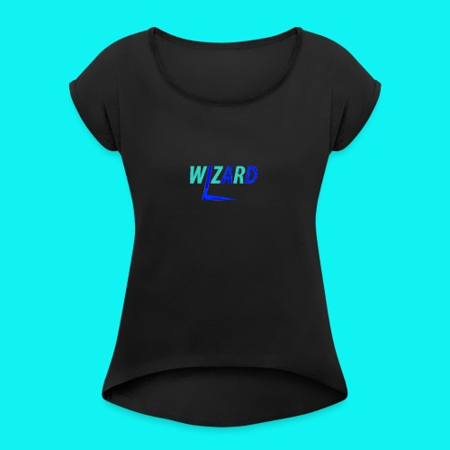 Wizard Williams Merch - Women's T-Shirt with rolled up sleeves