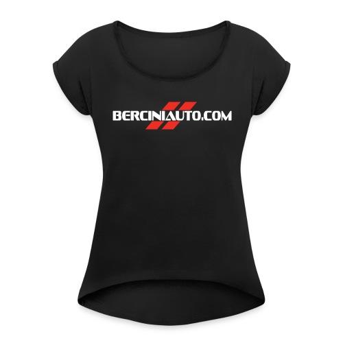 berciniauto - Maglietta da donna con risvolti