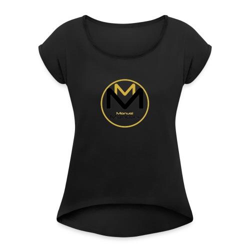 Logo MMwear - Frauen T-Shirt mit gerollten Ärmeln