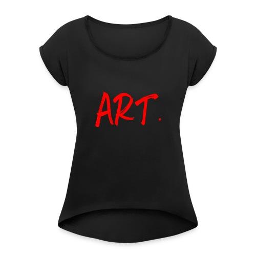 Art. - T-shirt à manches retroussées Femme