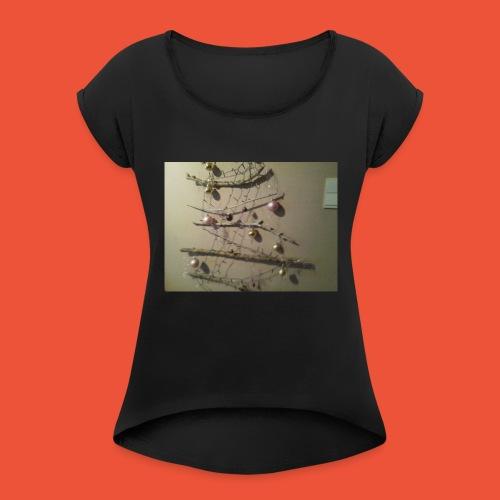 Vive Noël - T-shirt à manches retroussées Femme
