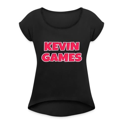 Maglietta KevinGames YouTube - Maglietta da donna con risvolti
