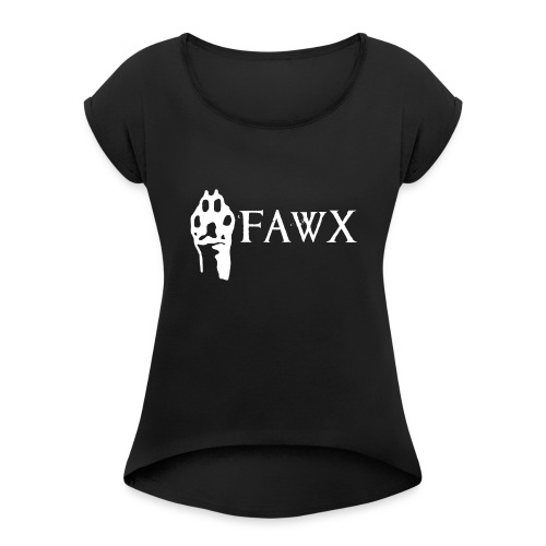 FAWX (Edition One) - Women's T-Shirt with rolled up sleeves
