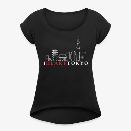 I HEART TOKYO Ver.2 - T-shirt à manches retroussées Femme