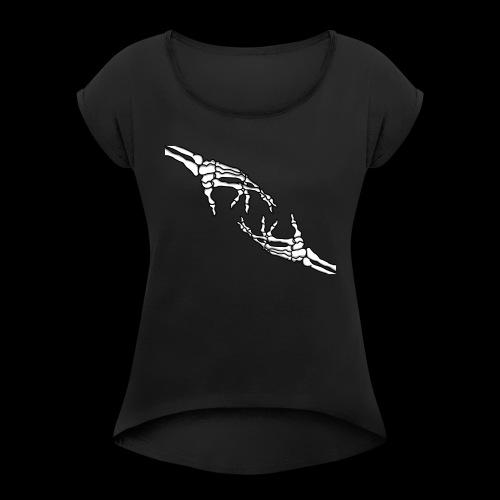 Together - Frauen T-Shirt mit gerollten Ärmeln