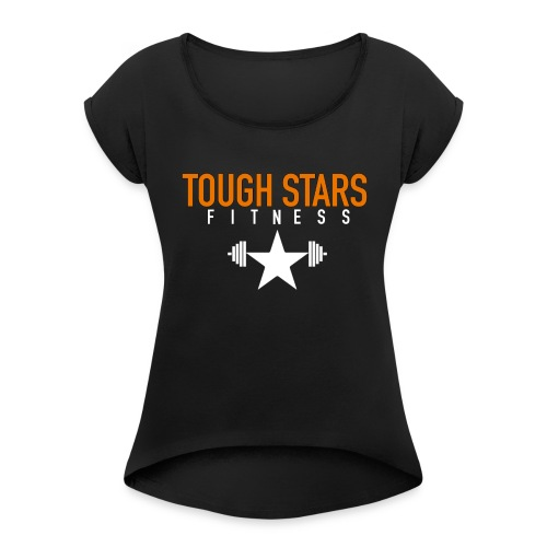 Tough Stars - Women's T-Shirt with rolled up sleeves