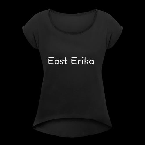 East Erika logo - Maglietta da donna con risvolti