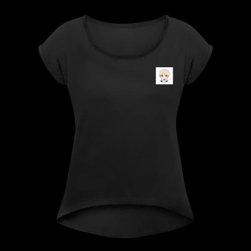 jimin1 - T-shirt à manches retroussées Femme