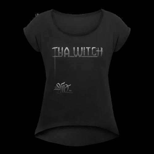 djAd - ThA Witch - T-shirt à manches retroussées Femme