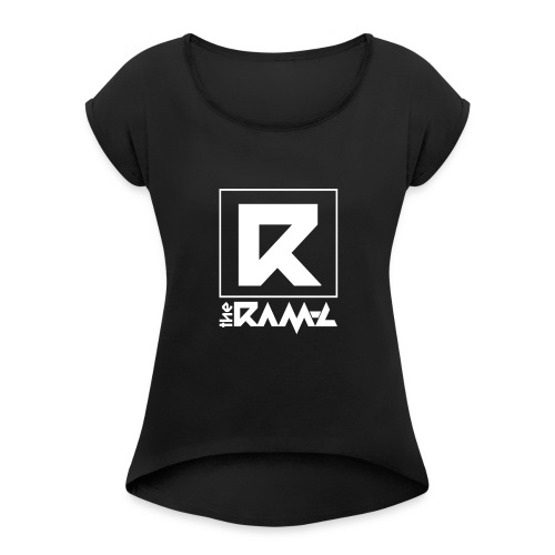 Dj The Ram C Official Logo W - Frauen T-Shirt mit gerollten Ärmeln