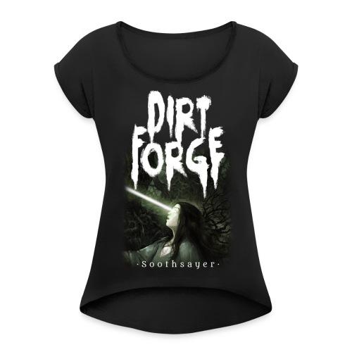 SOOTHSAYER GIRLIE - Dame T-shirt med rulleærmer