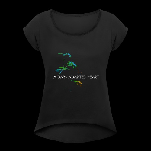 A Dark Adapted Heart album cover - Women's T-Shirt with rolled up sleeves