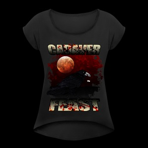cadaver Feast - Women's T-shirt with rolled up sleeves