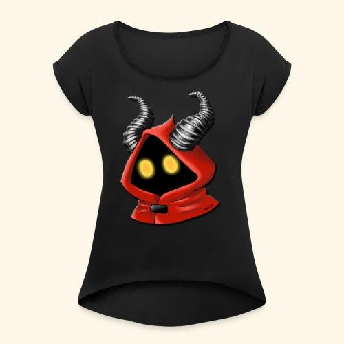 Logo NIA - T-shirt à manches retroussées Femme