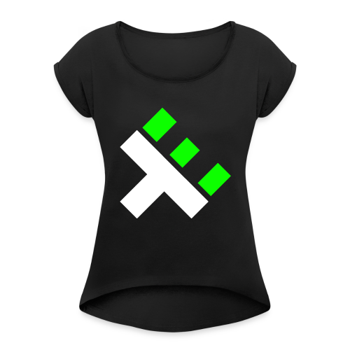 xEnO Logo - xEnO horiZon - Women's T-Shirt with rolled up sleeves
