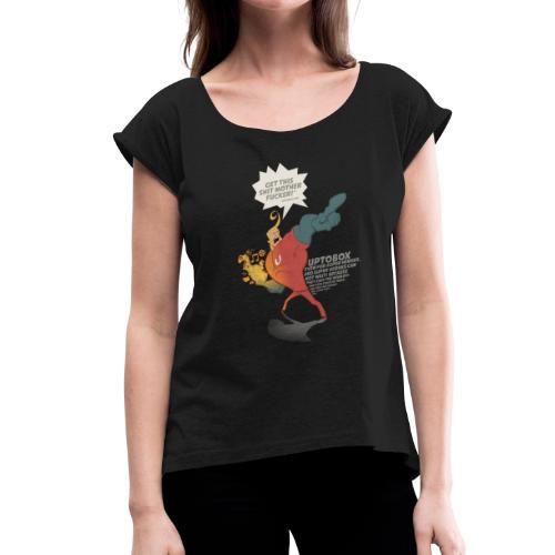Uptobox Super Hero - T-shirt à manches retroussées Femme