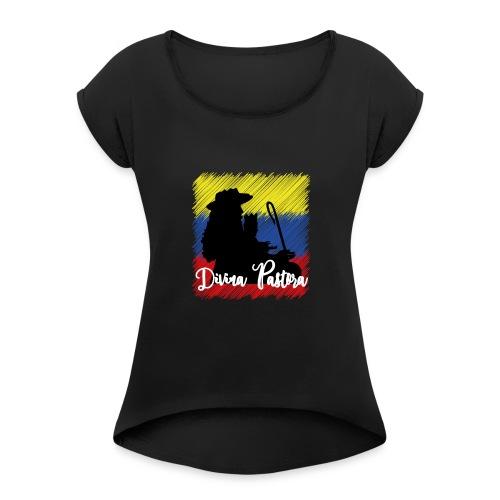 bandera - Camiseta con manga enrollada mujer