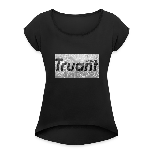 Phase 2 - Women's T-Shirt with rolled up sleeves