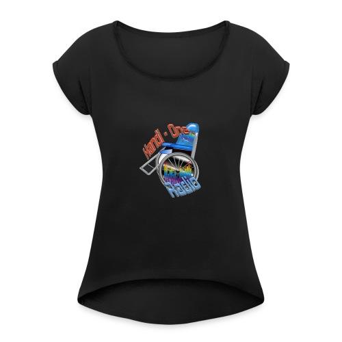 Logo Handi-One - T-shirt à manches retroussées Femme
