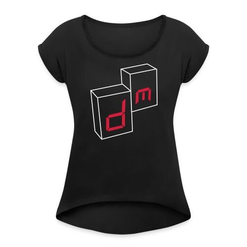 DM singles - T-shirt à manches retroussées Femme