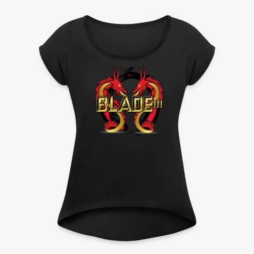 Blade - Women's T-shirt with rolled up sleeves